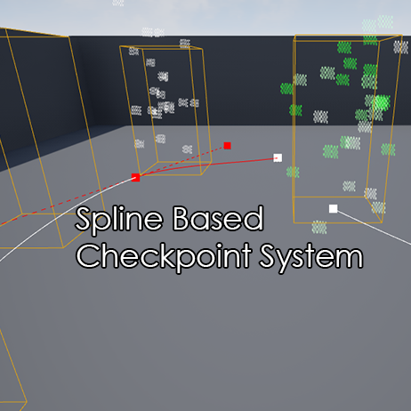 Spline Based system that allow you to create any count of checkpoints on spline length. Can be used for any kind of games and levels. Works with any PlayerCharacter.