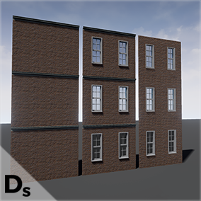 Spline Builder is the fastest way for you to create buildings and interiors for your level.