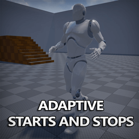 Add start and stop animations to your game with this unique blueprint and animation set