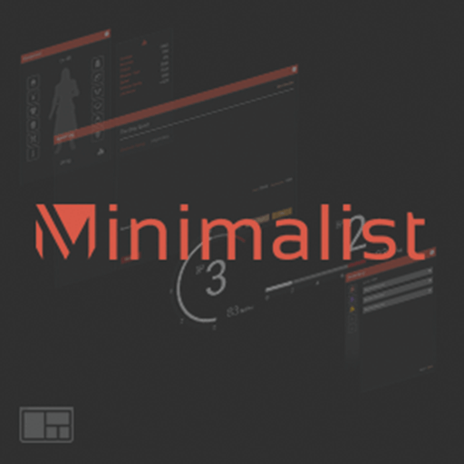 The Minimalist Interface Package contains a variety of widgets, icons, and interface elements flexible for any game genre.
