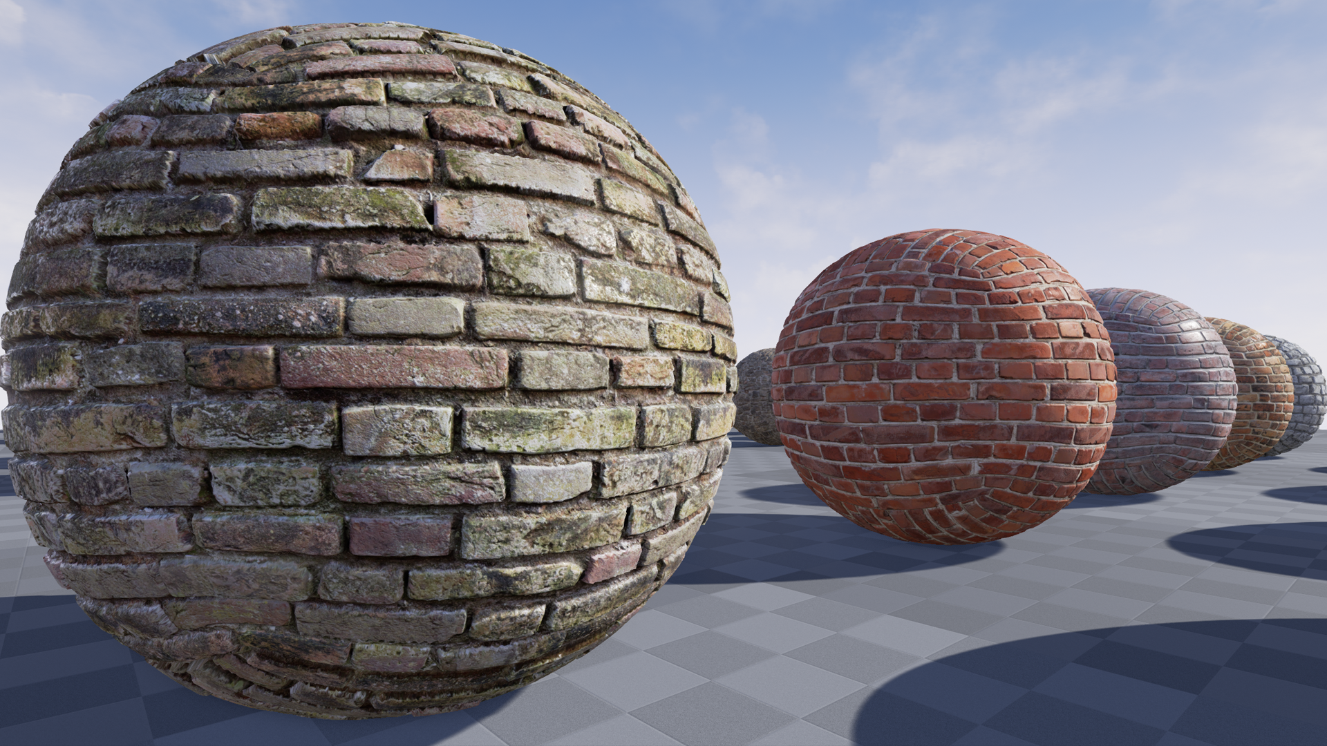Architectural Textures By CrazyTextures In Materials UE4