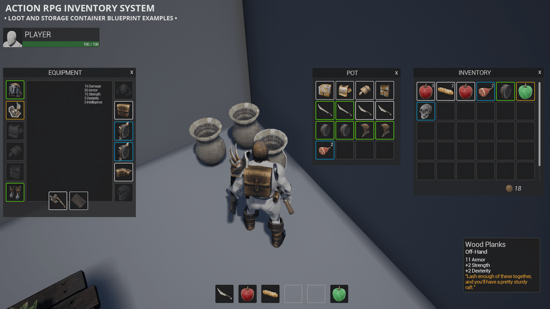 Action rpg inventory system by vanguard interactive in blueprints share malvernweather Choice Image