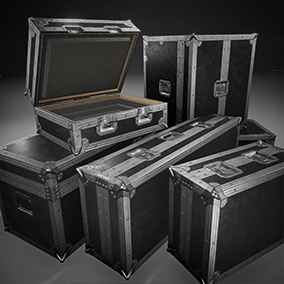 Now fully blueprint animated and interactive for the player these ATA High Quality Equipment Cases are perfect for weapons, gear and loot for any genre.