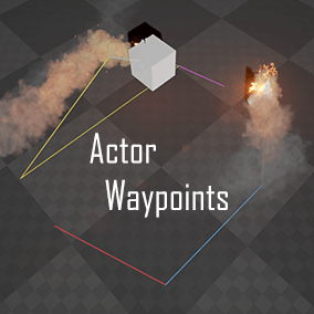Quickly build and visualize actor movements with simple snap on actor components.