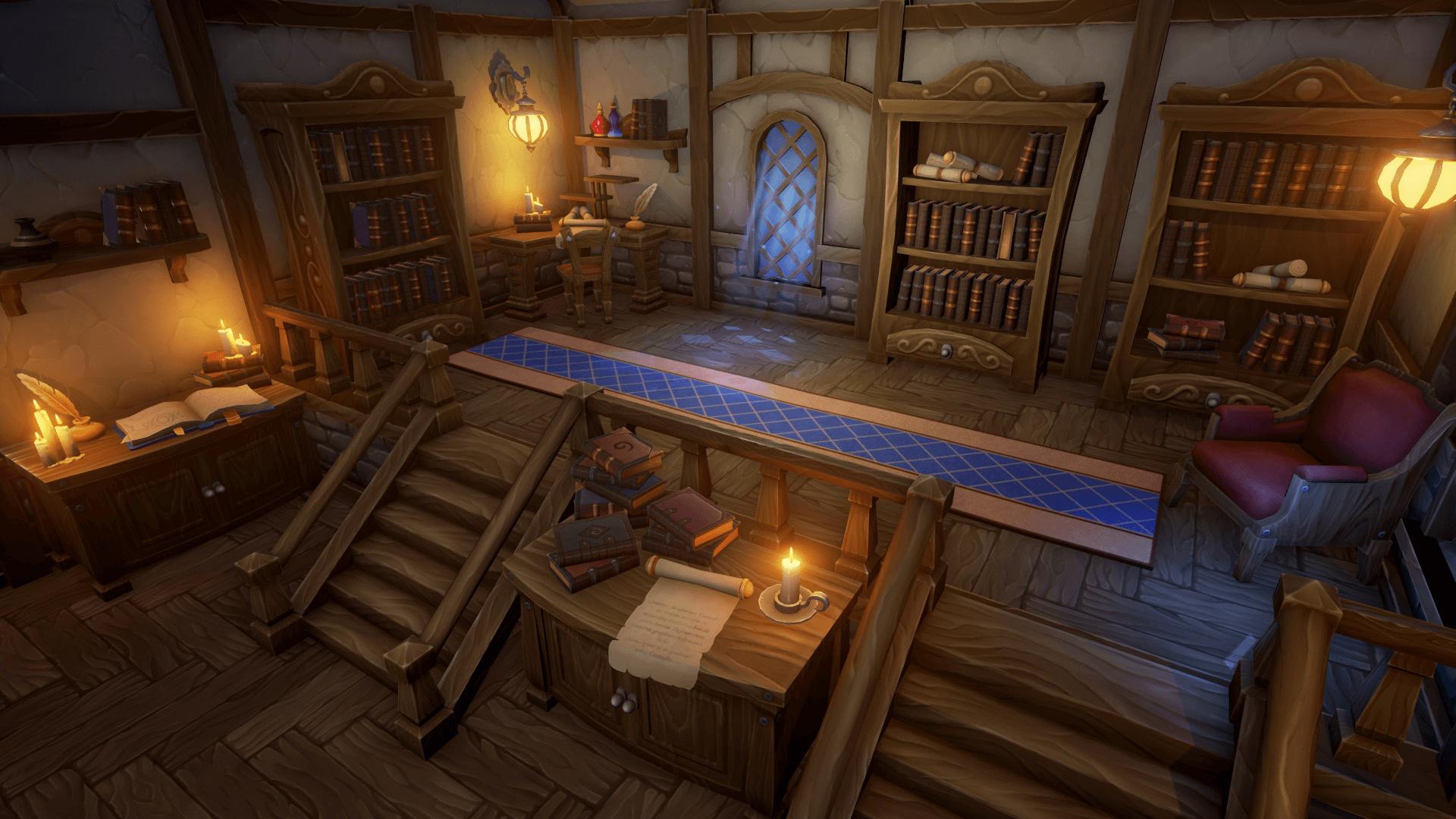 Alchemist S House By Evgeniya Yaremko In Environments Ue4 Marketplace