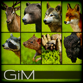 Animals Vol 01: Forest Animals is a pack of 8 game AI ready animal animations, meshes and sound fx, maya animation rigs and support files for fur plugins.
