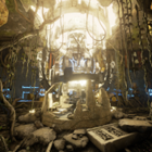 Behold the lost temple of Atlantis! Discover the Substance texturing technology in UE4.