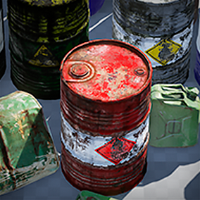 This generator is a quick and easy way to create various barrels using the same Blueprint.