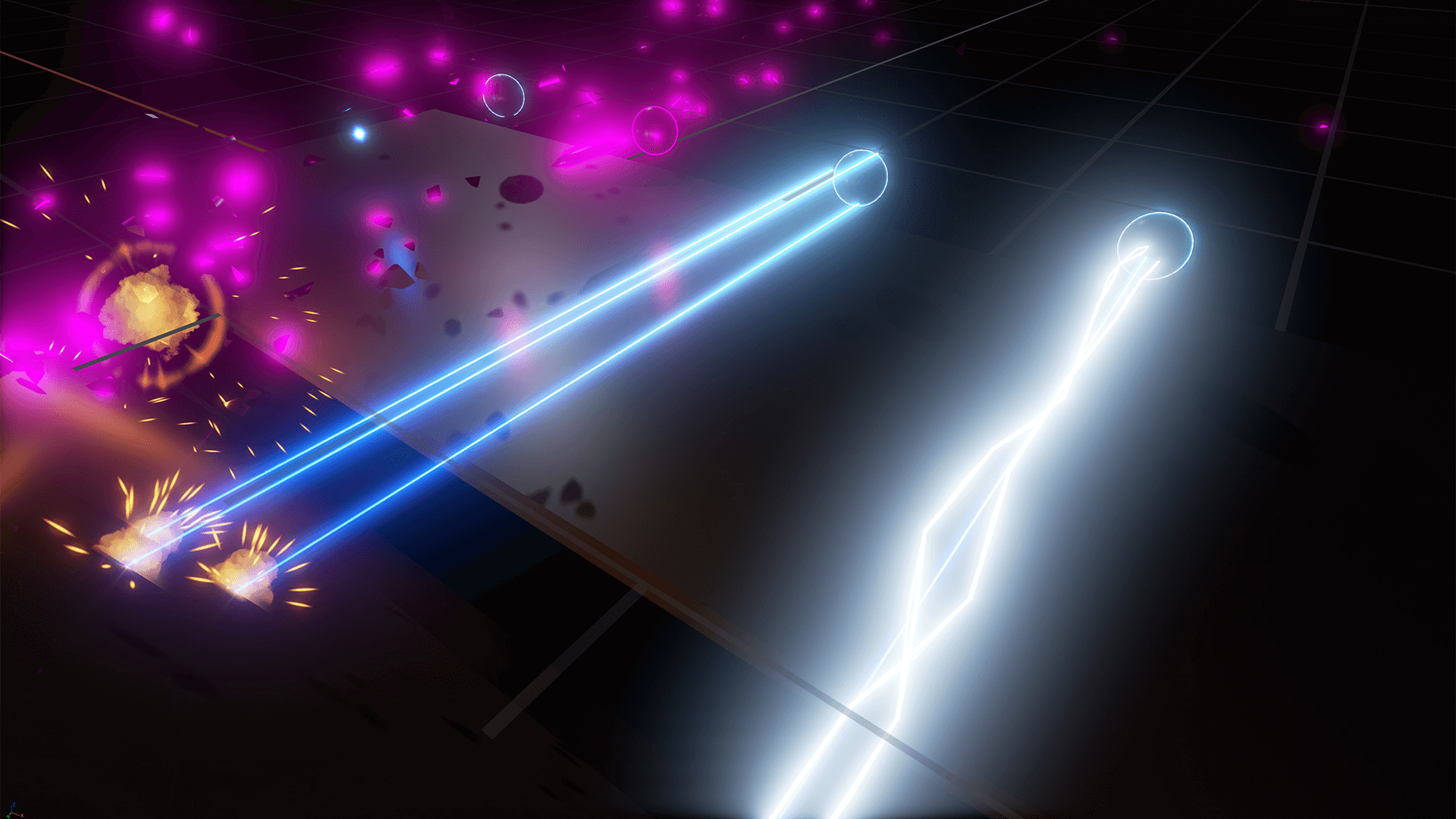 how to create laser beam effect in photoshop