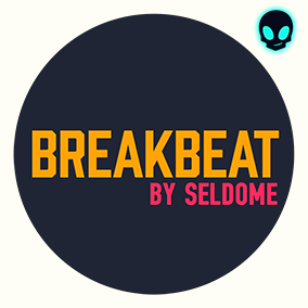 """WAV Maniacs Presents """"Breakbeat Music"""" Audio Asset music pack by Seldome contain 5 full tracks, 2 sound fx and 22 loop files."""