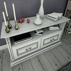 Pack contains 9 different high quality models of furniture.