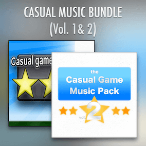 Includes Casual Game Music volumes 1 and 2. Music for mobile and tablet targeted games.