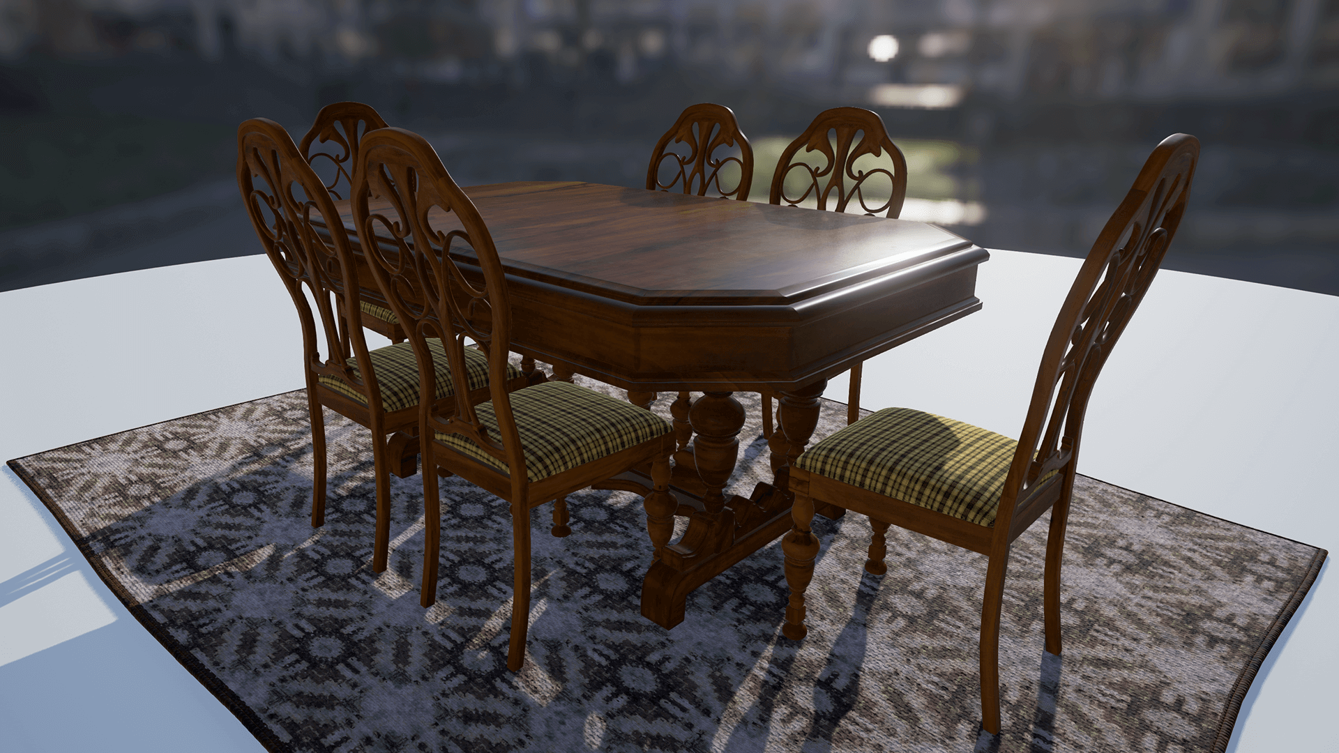 Crazy Insane Dining Sets By Tiny Little Studios In Architectural  Visualization   UE4 Marketplace