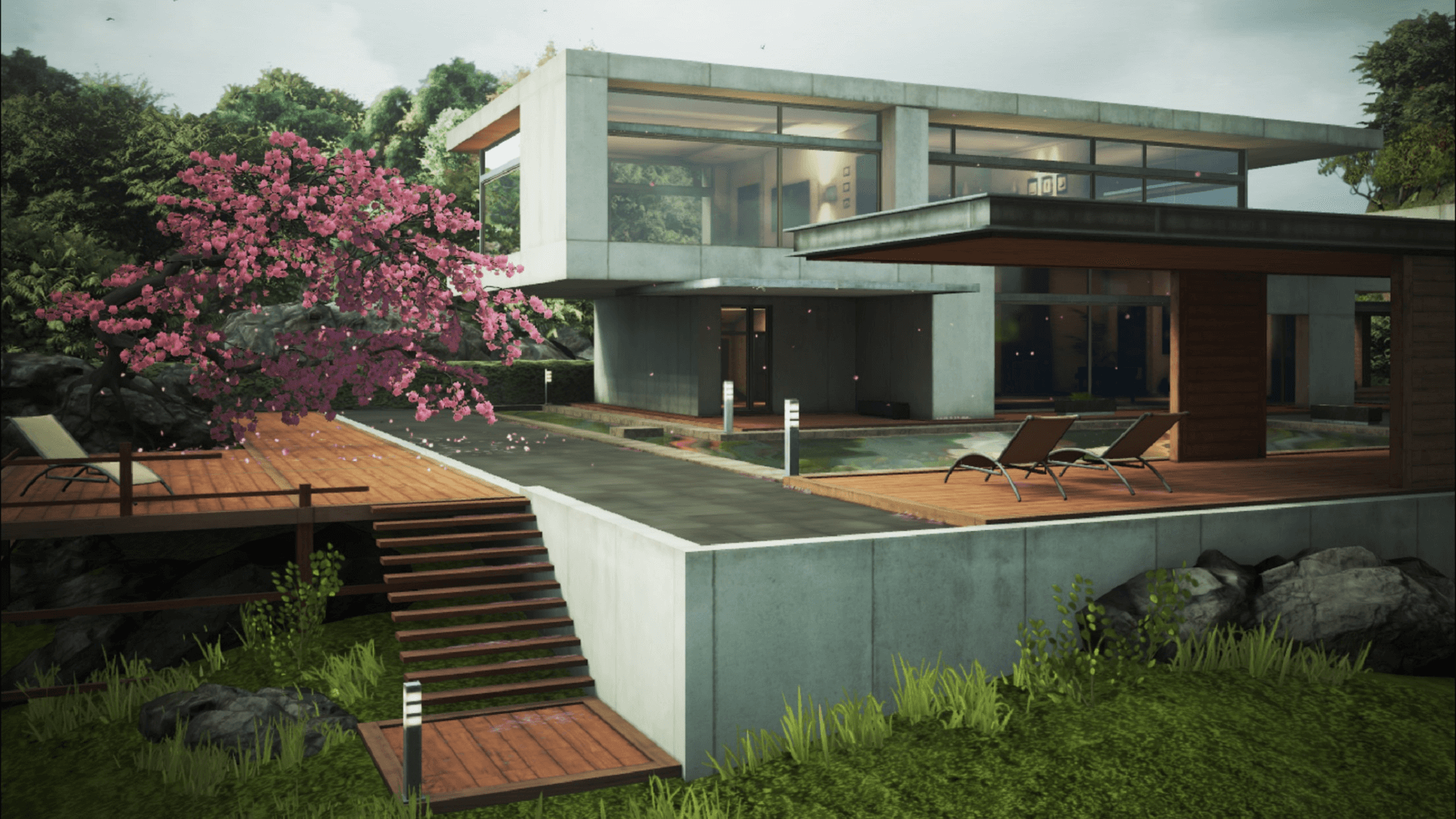 Epic Zen Garden by Epic Games in Epic Content,Environments - UE4