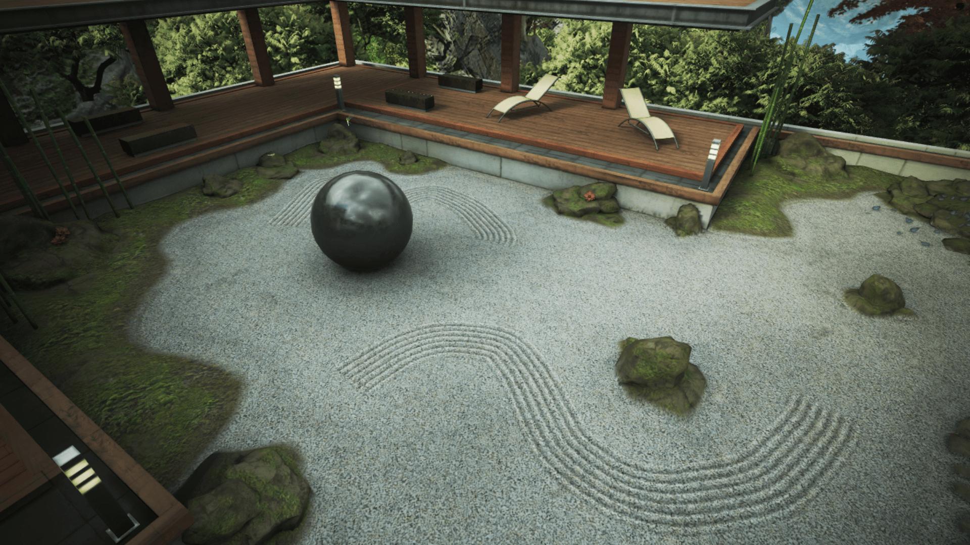 zen sand garden zen grten garten europa so knnen sie einen mini zen garten kreieren zen sand. Black Bedroom Furniture Sets. Home Design Ideas