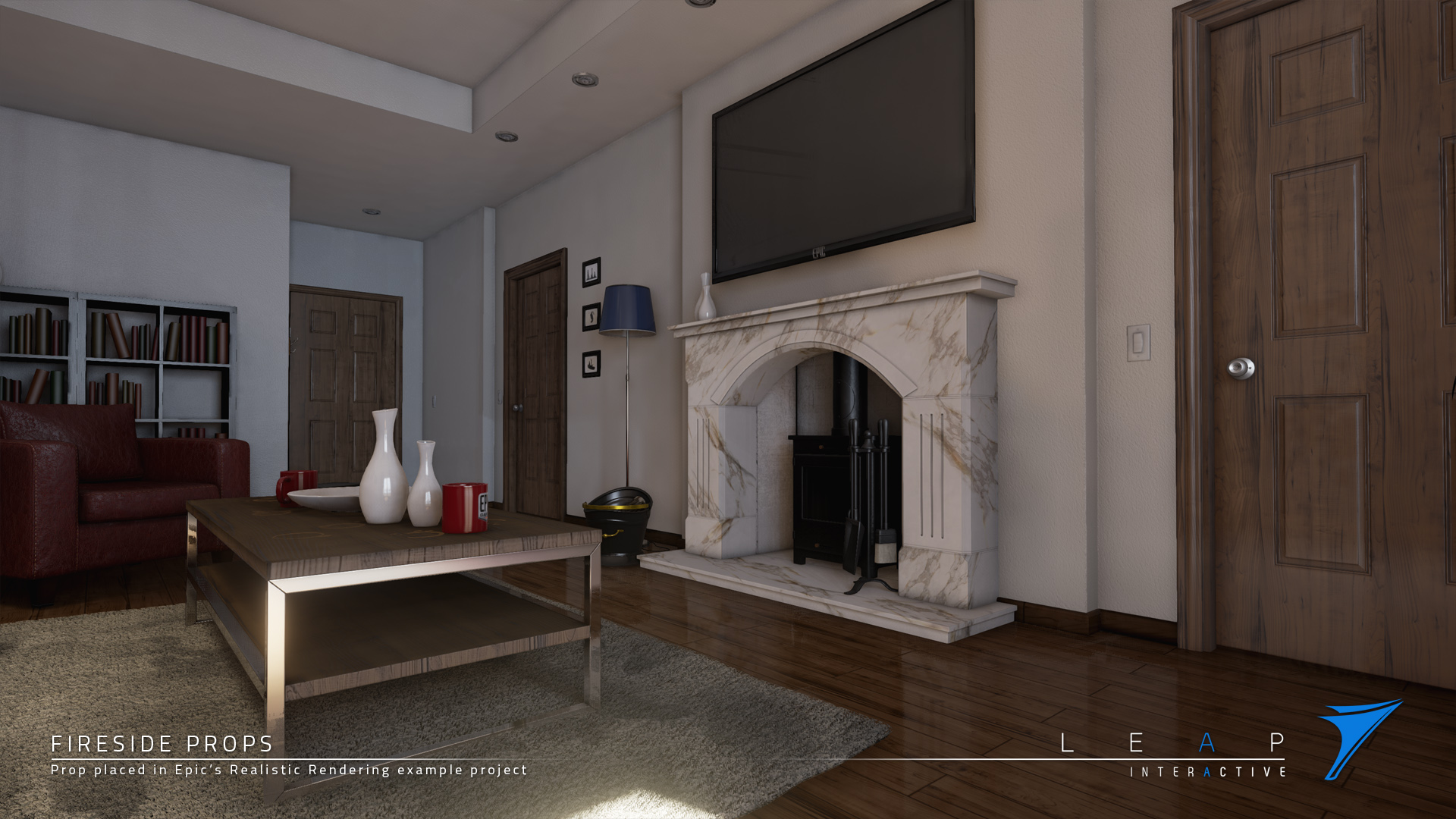 fireside prop pack by leap interactive ltd in props ue4 marketplace
