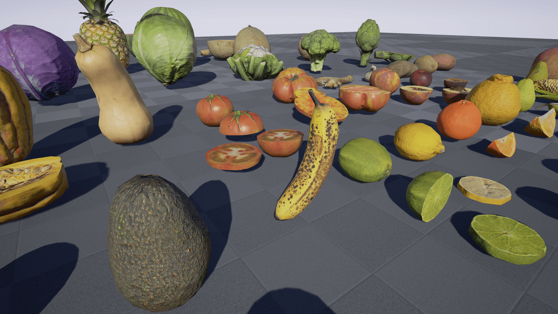 Free Food Pack For Unreal Engine