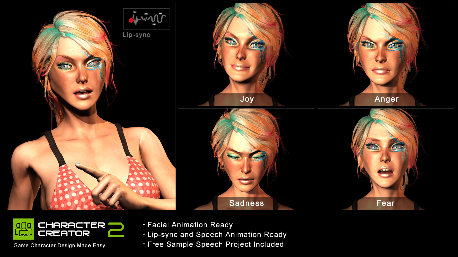 Izzy (Female Character) by Reallusion Store in Characters