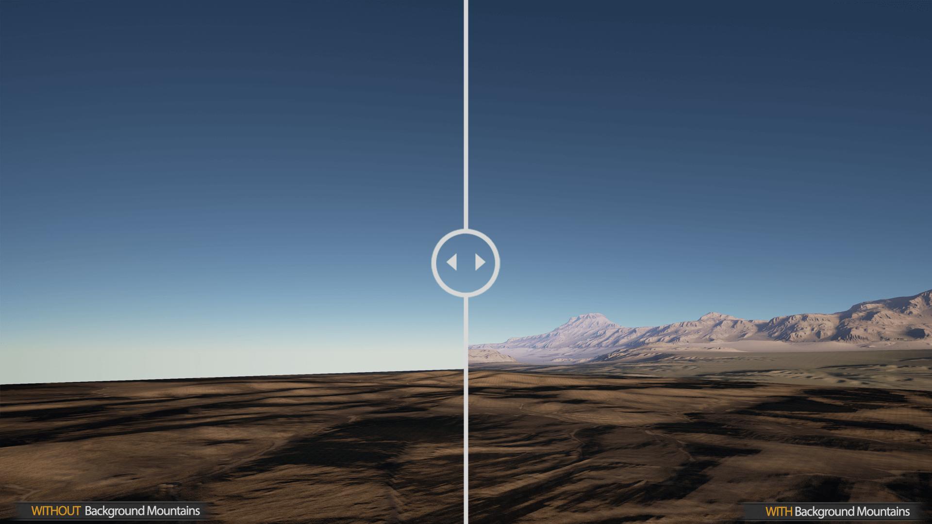 landscape backgrounds by gokhan karadayi in environments