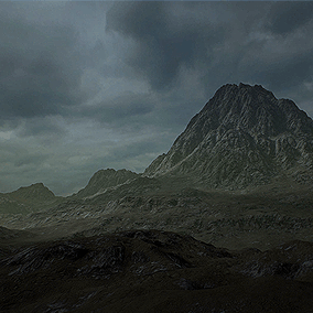 Lowlands is a 16 Square Kilometers landscape, taking you right into the middle of a dark and unwell land where you can take a lonely walk in the lower parts or go high into the mountains.