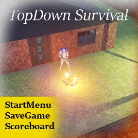 Highly customizable multiplayer template for creating TopDown or Survival games.
