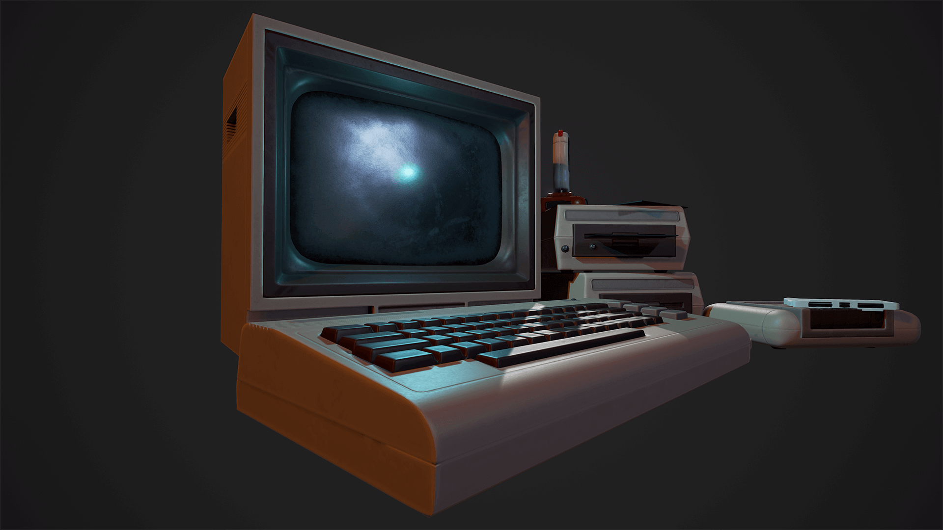Retro Gaming Mini Pack by Warren Marshall in Props - UE4