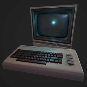 Modeled after the computing power of my youth, these props can add a healthy dose of nostalgia to any environment.
