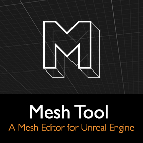 Mesh Tool is an mesh editor for Unreal Engine. It allows you to edit mesh assets and prototype props and levels without leaving Unreal Editor.