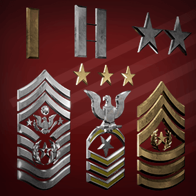 With over 300+ meshes this Military Insignia Set was designed for use in representing rank in a variety of armed forces branches. Based on real world ranking systems we have also included a set of separate components to create your own custom insignia.