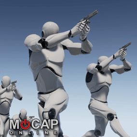 172+ Pistol Motion Capture Animations