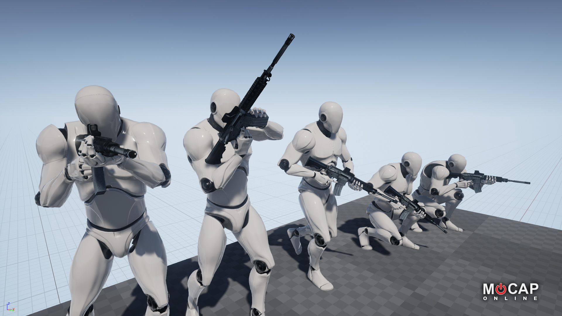 Rifle 01 Pro - Mocap Pack by MoCap Online in Animations