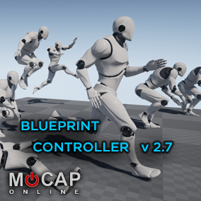 300+ Mobility Motion Capture Animations and IPC Blueprint Controller