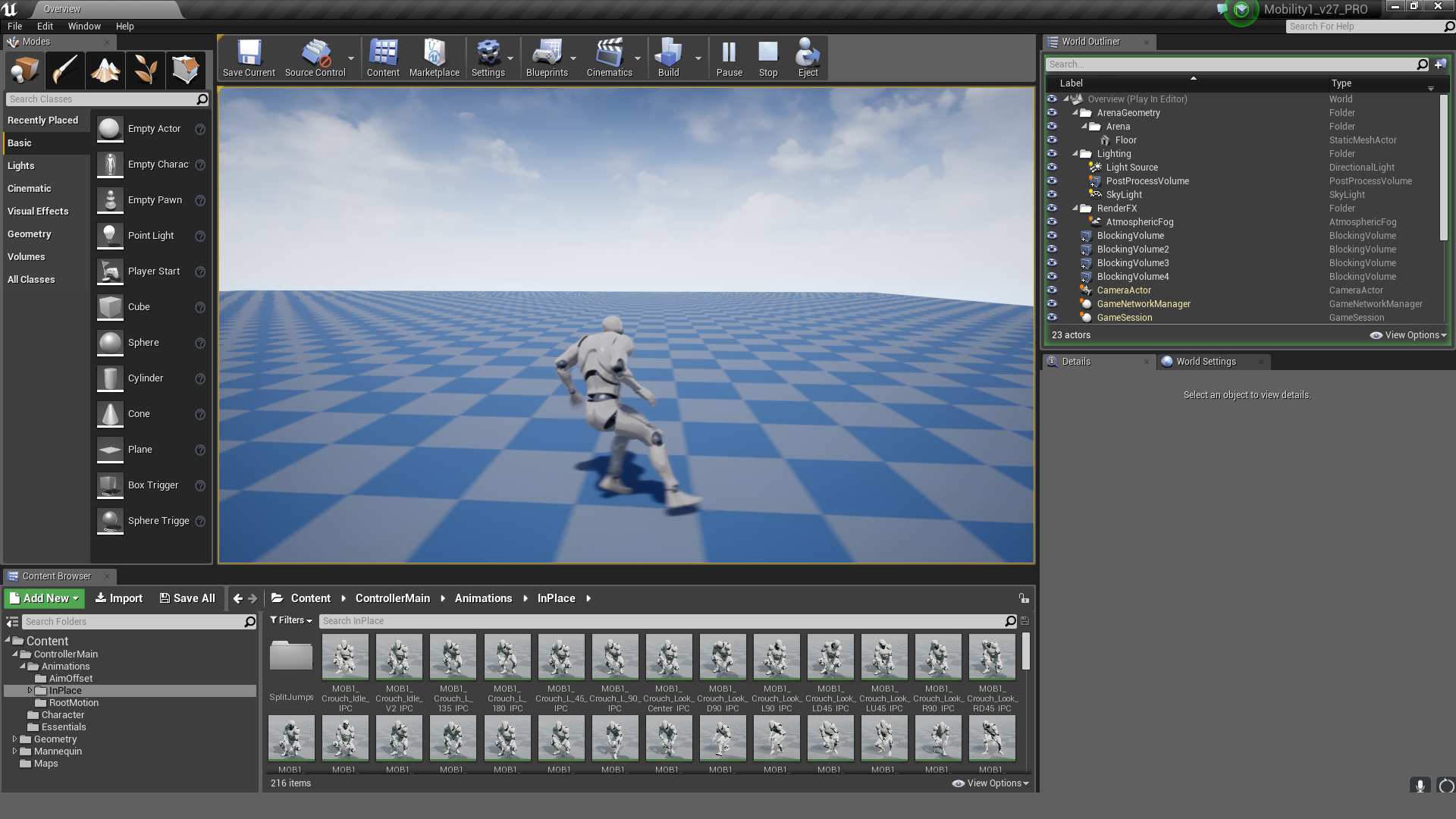 Mobility 01 Pro - MoCap Pack by MoCap Online in Animations - UE4