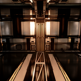 Modular set of Next Gen SciFi Hallway assets. Highly customizable, adjust colors, pbr, and more. Construct a series of next gen hallways for your SciFi project.