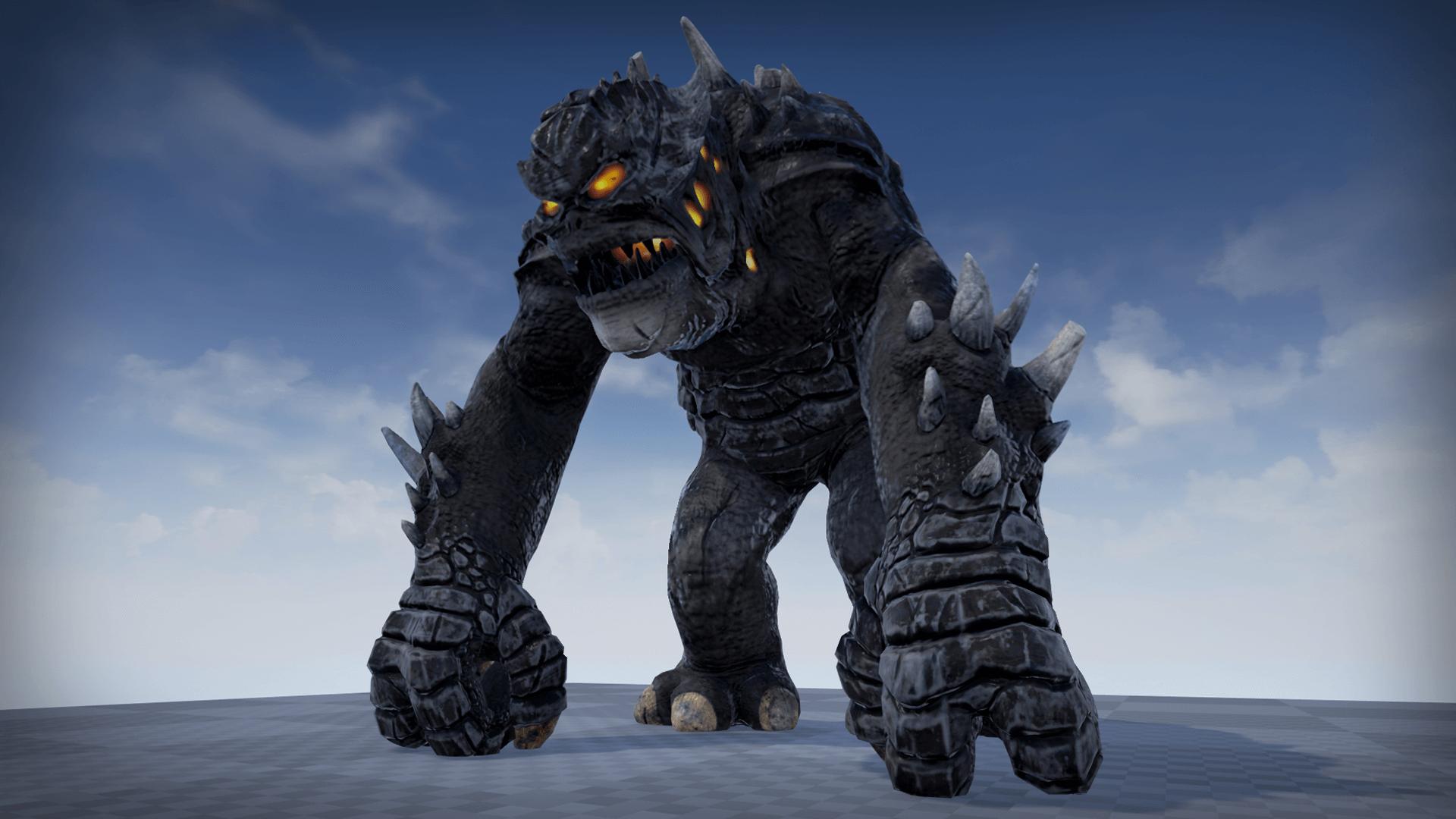 Heroic Fantasy Bosses: Monster Boss by PROTOFACTOR INC in