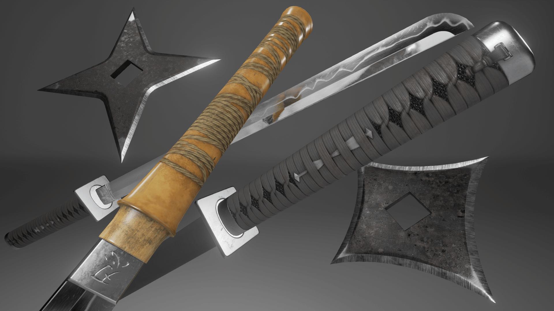 Pin by frank matarrese on Genji | Sword, Ninja weapons ...  |Types Of Ninja Swords