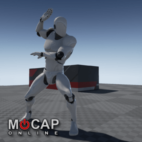 167 Ninja Motion Capture Animations