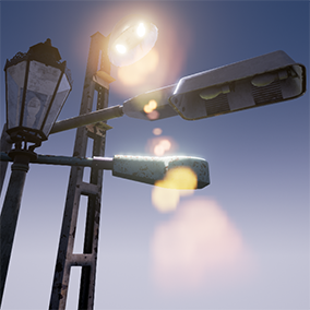 Light up your city's, and street's with these old Blueprint based Streetlamps!