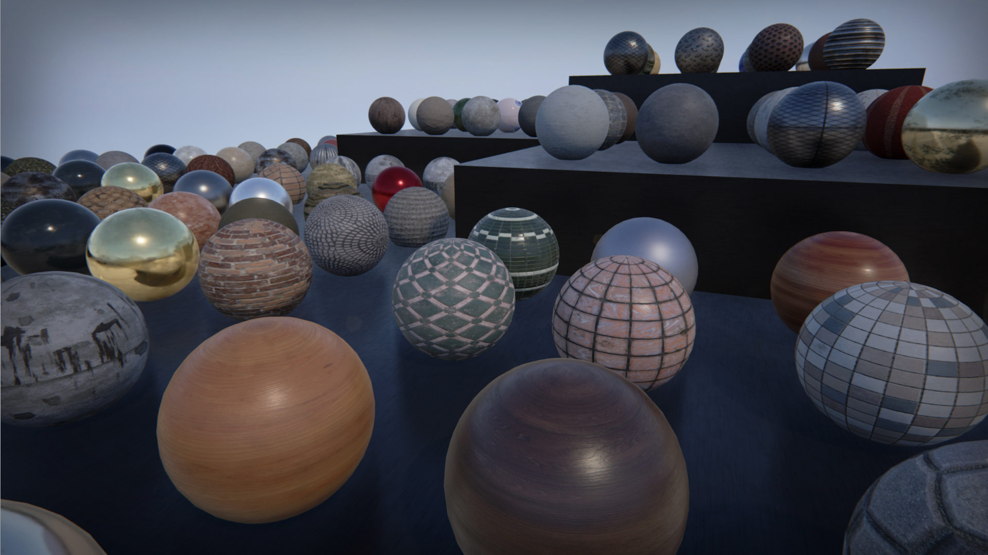 100 PBR Substances by Allegorithmic in Materials - UE4 Marketplace