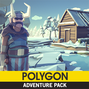Synty Studios Presents - Polygon - Adventure Pack. A Fantasy themed asset pack.