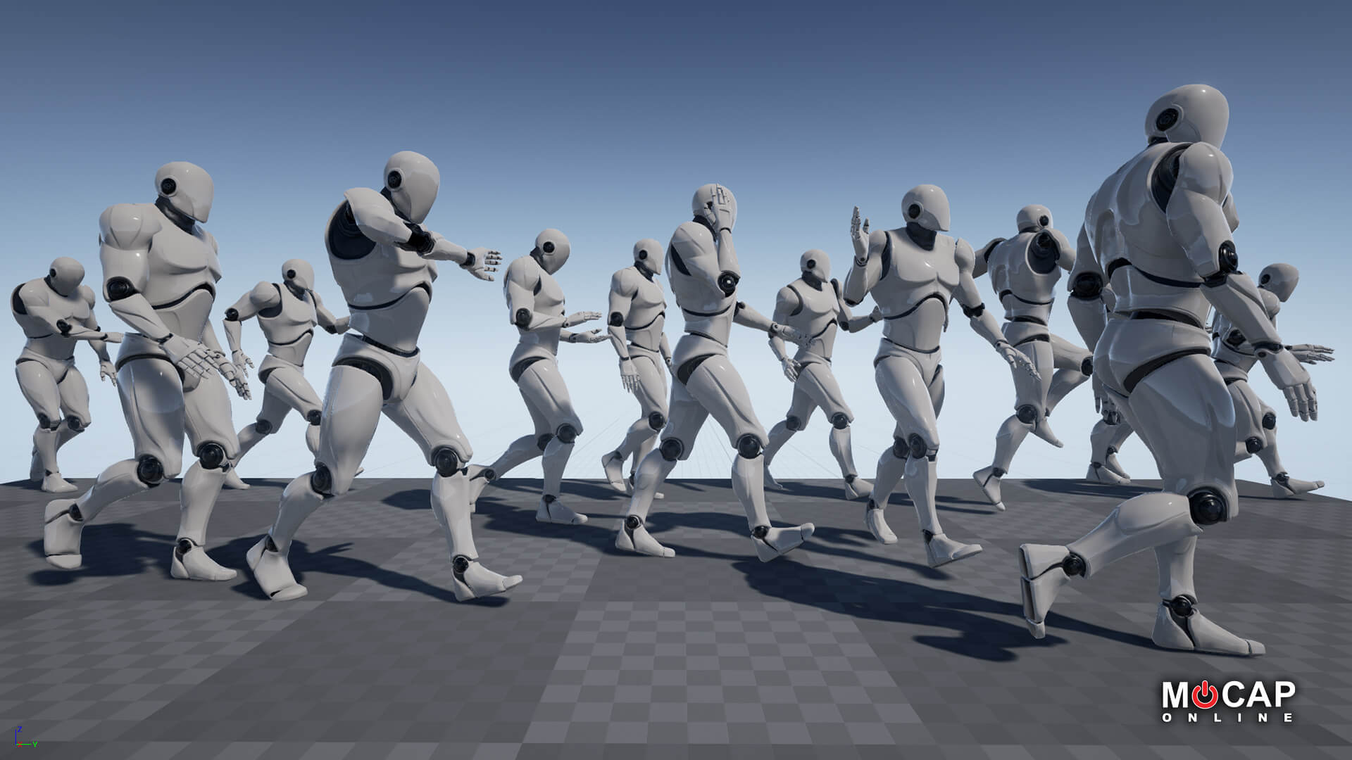 Pedestrian Walks MoCap Pack 1