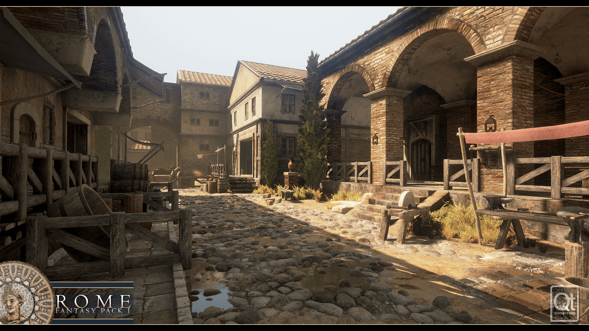 Rome Fantasy Pack I By Quantum Theory In Environments