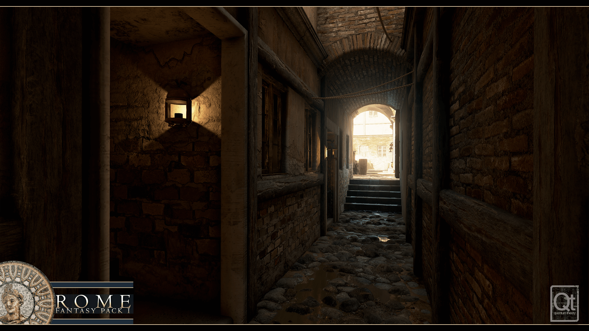 Rome Fantasy Pack I by Quantum Theory in Environments - UE4