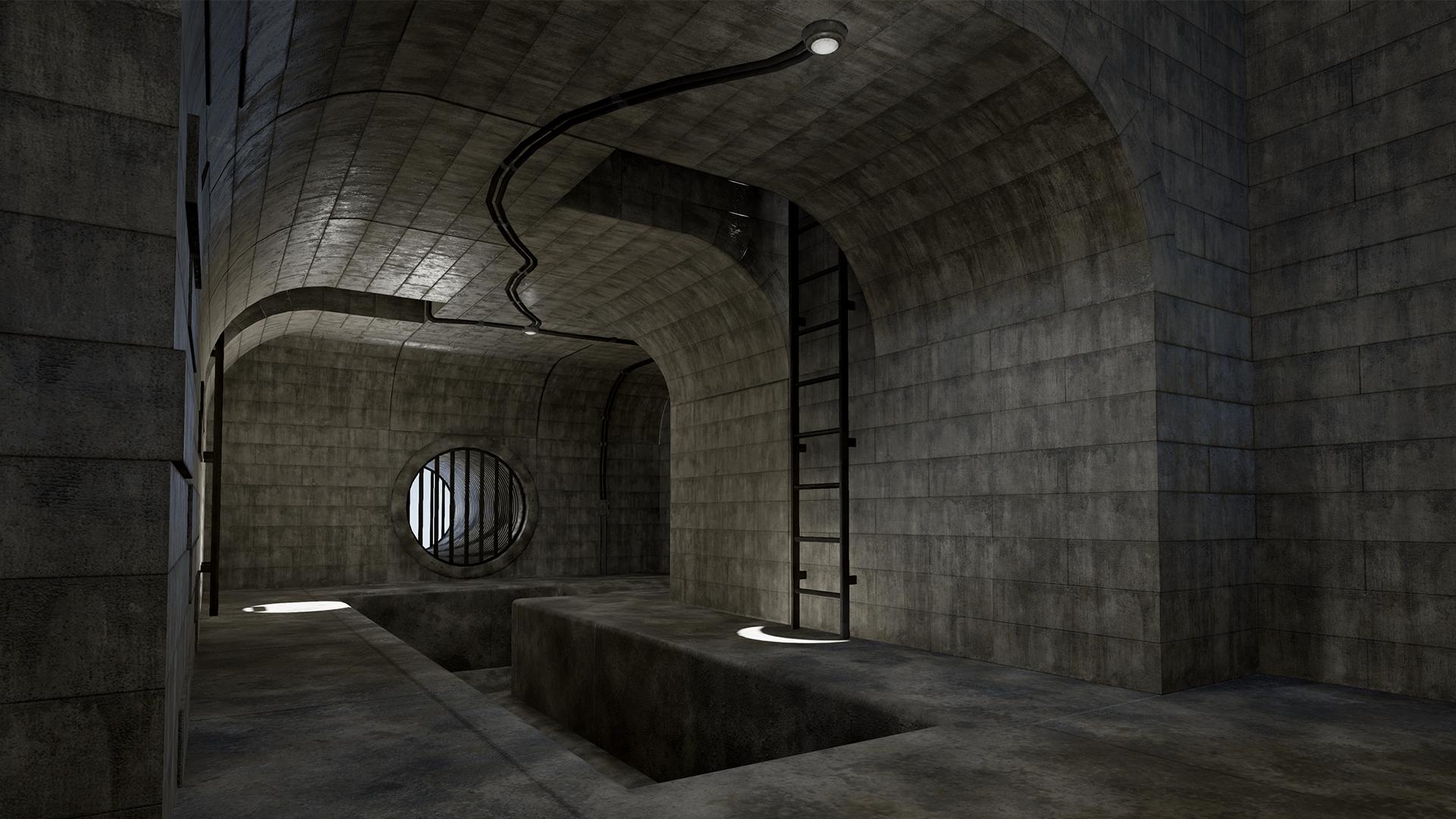 محیط آنریل Sewers and Underground Modular Set