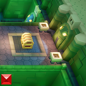 A 3D retro, Zelda-esque dungeon construction set for top down adventure fun!