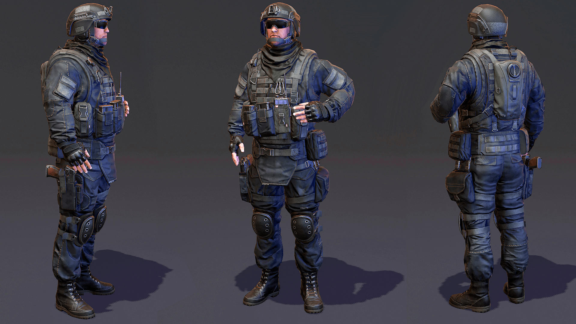 Modern Soldier Camo Pack By Vladimir Andropov In