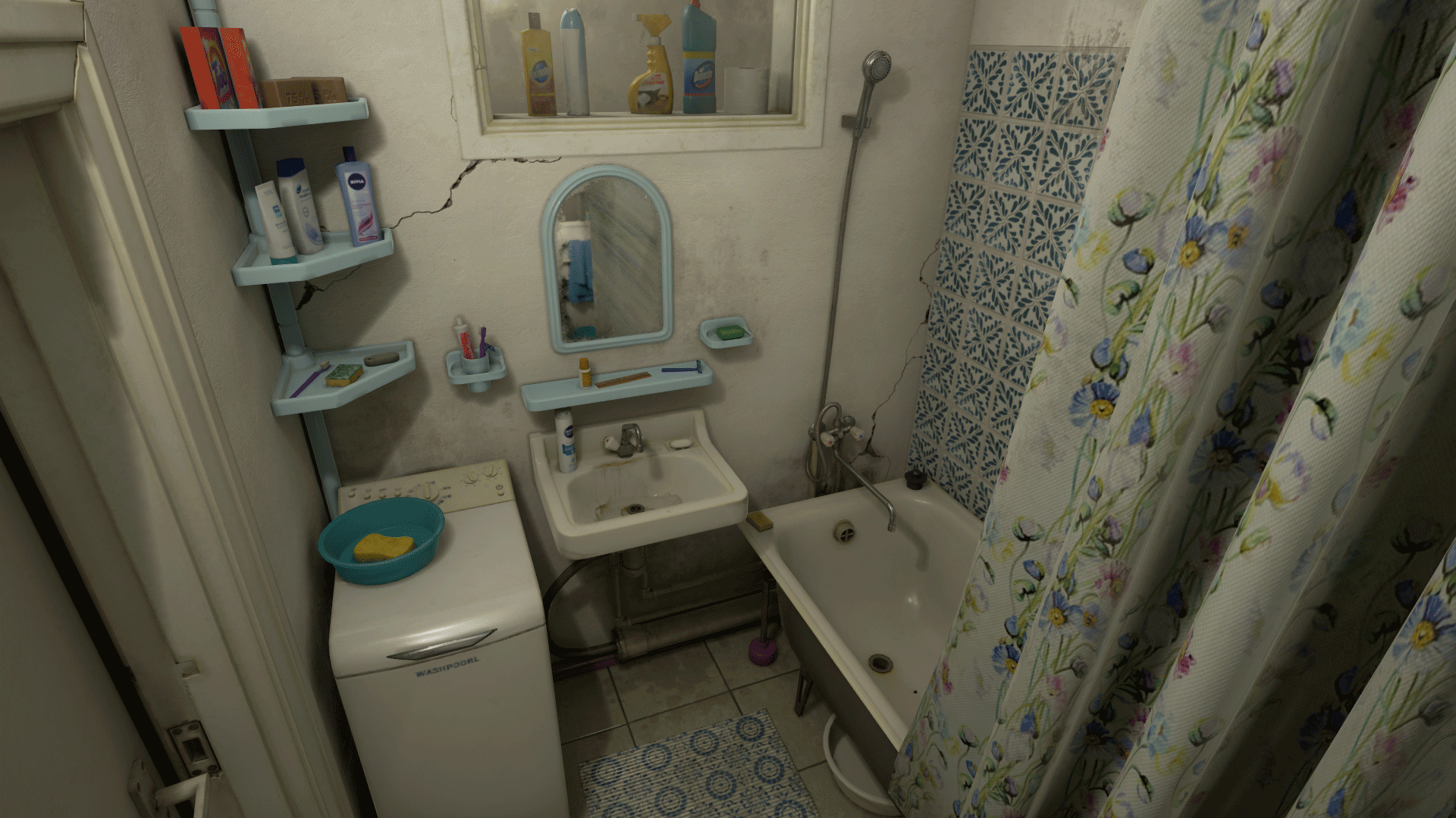 bathroom white noise post soviet bathroom by white noise team in environments 11958