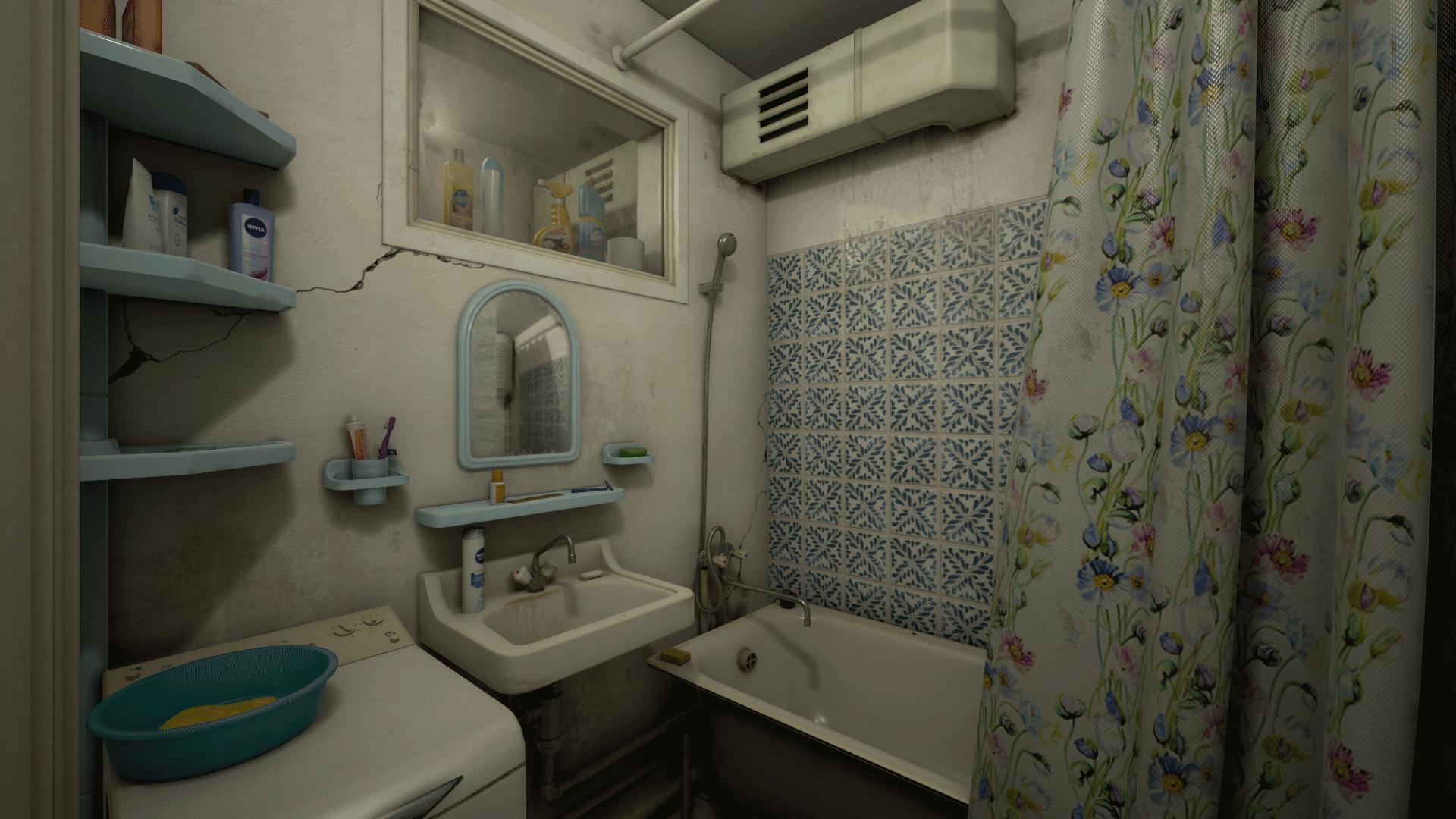 Bathroom white noise - Share