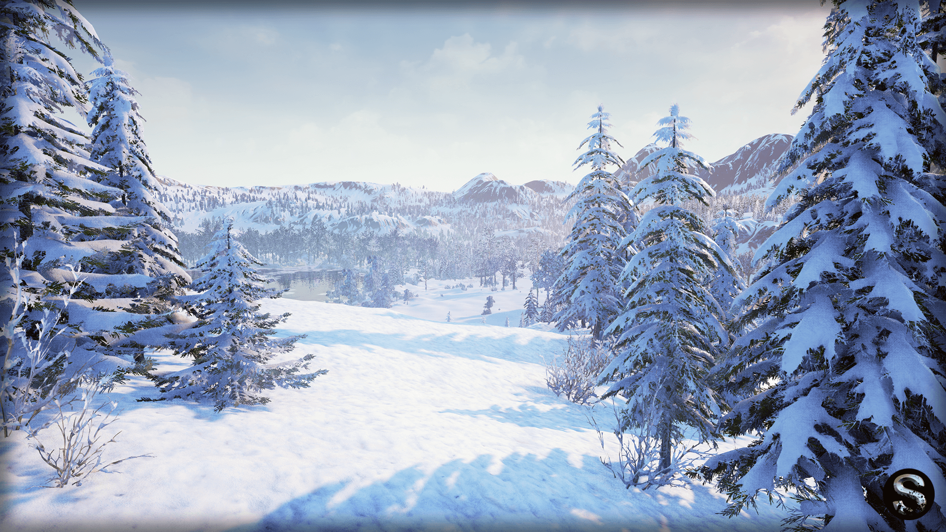 Winter Nature by SilverTm in Environments - UE4 Marketplace