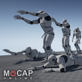 26+ Zombie Motion Capture Animations and demo BP